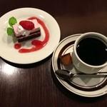 めぞん・ド・グリエ - 桜のケーキ&コーヒー