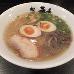 18621309 - 塩らーめん ¥680 クーポンで煮卵が+されています。