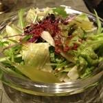 ファイブテンステーキハウス - サラダ。