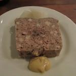 アヒルストア - 豚肉と鶏レバーのパテ