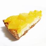 キルフェボン - ゴールデンパインとル ガールクリームチーズのタルト (577円)  '13 4月下旬