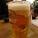 浜一番屋 - キリン一番搾り「極冷え」生ビール(530円)