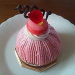 フレイ延齢堂 - ピンクのモンブラン