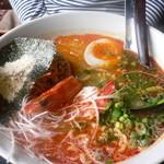18626140 - 海老塩坦々麺(830円)