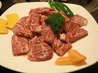 焼肉まんしゅう - 滅多に食べられない万葉牛のハラミ