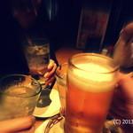 中洲再生酒場 - 料理写真:私が撮ったカンパイ写真。