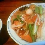 18628497 - 中華丼大盛り。