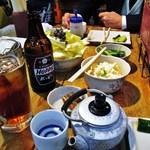 18629093 - キャベツ・ポテトサラダ・きゅうり・ホッピー・お酒