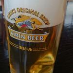 龍燕 - 生ビール600円
