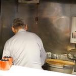 蕎麦切り屋 - 親父の背中