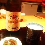 日本酒処 華雅 - 先ずはビール♬
