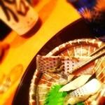 日本酒処 華雅 - この、コハダめっちゃ美味しい♪