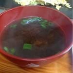 さの食堂 - 味噌汁