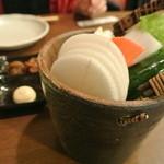 18631678 - お通しの生野菜