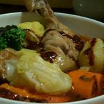 ガネー舎 - 1)とり野菜カリィ