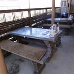 えにし - 旧店舗 喫煙可能なテラス席1