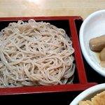 食事処 熱海 祇園 - 天丼蕎麦(せいろとお芋)