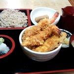 食事処 熱海 祇園 - 天丼蕎麦