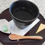 花見茶屋 水月 - 梅昆布茶