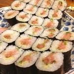 鮨まつ - ネギトロ三昧ww
