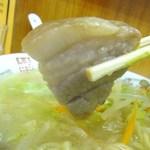 中華 カド - 豚バラ厚めです