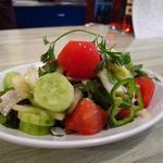18638428 - トマトときゅうりとコリアンダーのサラダ
