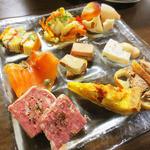 ヨシミチ - 前菜盛り合わせ