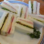 ティーハウス ムジカ - サンドイッチ