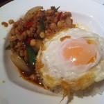 THE KAIEN - 鶏ひき肉スパイシーバジルご飯