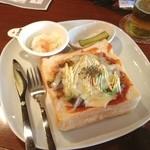 チープトリック - アンチョビとチーズのトースト