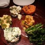 18643175 - 2013・4・24 オフ会 野菜前菜盛り