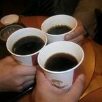 カフェ・ベローチェ - ミニミニさん、ぴょん吉さんと乾杯!とても楽しい夜でした!
