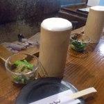 18645962 - 竹のジョッキで乾杯~(✿ฺ´∀`✿ฺ)