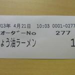 18646184 - 食券
