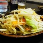 ラーメン 亜麺坊 - 野菜炒め