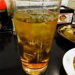 ラーメン 亜麺坊 - ウーロンハイ