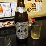 ラーメン 亜麺坊 - ビール