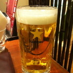 焼肉 おくう - 生ビール 580円