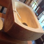 18647124 - チーズリゾットに使うパルミジャーノチーズ
