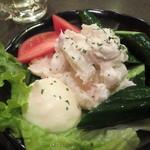 たぬき - ポテトサラダ