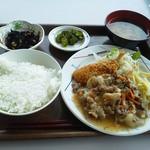 港区役所 レストランポート - Bランチ 610円
