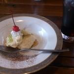 18648815 - ランチのデザート(レアチーズケーキ)