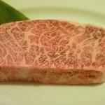 焼肉天下 - 柔らかロースステーキ