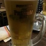 18649620 - 生ビール(390円)が・・・