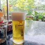 カリーバー・ミルチ - ランチビール250円