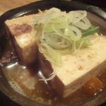 やきとん たつや - 煮込み豆腐