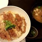 和風亭 - カツ丼 ¥800だったかな。