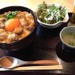 18653676 - 東京軍鶏とフォアグラの親子丼