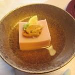 18654667 - 桜の玉子豆腐