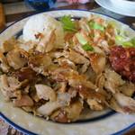 トルコ料理レストラン DENIZ デニズ - ドネルケバブセット(950円)